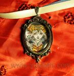 Enchanted december fantasy cameo reproduction