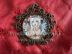 Spring tribal Fairy PRISCILLA HERNANDEZ ORIGINAL painting