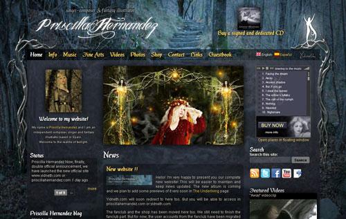 Priscilla Hernandez nueva web oficial